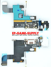 Headphone Audio Dock Connector Charging USB Port Flex Cable White iPhone 6 USA!