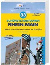 33 schönste Radtouren RHEIN-MAIN & Faltkarte - Radeln / Biken rund um Frankfurt