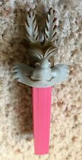 Pez Non-U.S. Wile Coyote - 3.9 No Foot Pink Austria Stem - Mint Condition