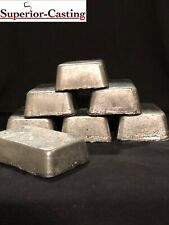 7lbs Clean Pure Lead Ingots. Casting Bullets Sinkers Weights And Pipe