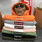 2017 Hot Sold New Supreme Men's Unisex  Box Logo T-shirt Tee Tops Cotton Hoodies