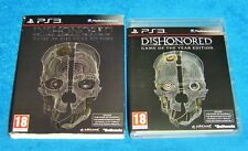 Sony Playstation 3 Jeu-déshonorés: Game of the Year Edition