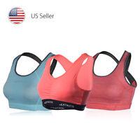 Women's Petite Fitness Sports Bra Yoga Pilates Running Workout FINAL SALE!!