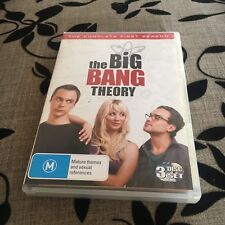 THE BIG BANG THEORY DVD. THE COMPLETE THIRD SEASON. 3 DISCS