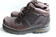 Dr Martens Brown 5 Eyelet MAC-TOE Boots 9A89 UK 8 USA Men 9 Women 10