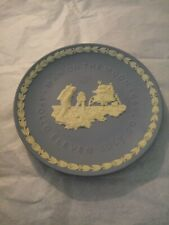 Wedgwood Man On The Moon Apollo Eleven July 20 1969 Blue Plate