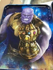 2018 Marvel Fiji 2 oz Silver Avengers Infinity War Coin THANOS (Antiqued)