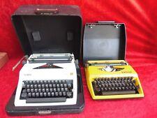 2 alte Schreibmaschinen__Olympia Monica und Triumph Tippa __!