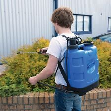 Pulvérisateur à dos 20 litres avec lance en acier inoxydable. Silverline 633595
