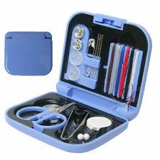 Mini Travel Sewing kit 14 PCs Sewing Set Thread Needles Plastic Case Scissors
