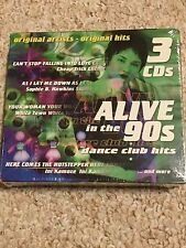NEW 3 CD Set ALIVE IN THE 90S - Dance Club Hits Volume 4, 5, 6 096009174828