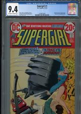 Supergirl #1   (1st issue)   CGC 9.4  OW-WP