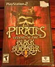 Pirates Legend of the Black Buccaneer (PS2, 2006) *BRAND NEW* SHIPS FAST Mon-Sat