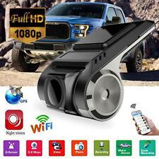 1080P HD Smart Car DVR Camera Video Recorder WiFi/GPS/ADAS G-sensor Dash Cam USB