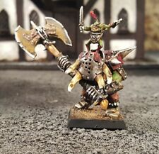 Warhammer AOS Painted Orc (Ork) Warboss