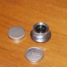 Leica Ernst Leitz Wetzlar Summaron 3.5cm 35mm f/3.5 M39 LTM Monte Lente 1958