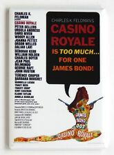 Casino Royale (1967) FRIDGE MAGNET (2 x 3 inches) movie poster james bond