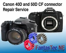 REPAIR SERVICE For CANON 40D, 50D Camera CF Pin Repair