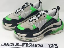 BALENCIAGA TRIPLE S X MR PORTER EXCLUSIVE 43 US 10 UK 9 28 NEON GREEN SNEAKERS