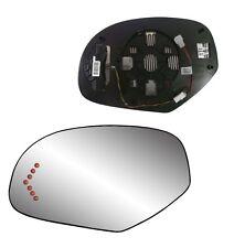 LH Heat Mirror GLASS W/LED Signal & Back FOR 2007 2008 2009 2010 2013 GMC Denali