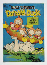 Walt Disney's Donald Duck Four Color Comics #256 1949 Luck of the North Barks