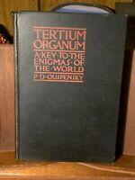 1931 Tertium Organum Occult PD Ouspensky Mystery Space Time Mathematics Logic NR