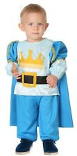 Baby Toddler Boys Blue Royal Prince TV Book Film Fancy Dress Costume Outfit