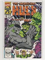 Incredible Hulk #376 Dale Keown Peter David Green vs Grey 9.4