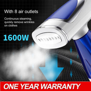 1600W Clothes Garment Steamer Fabric Home Hand Held Travel Compact Handheld