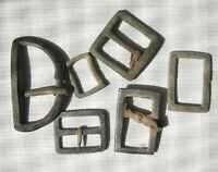 6 French buckles Dug relic  BUTTON Napoleon France Russia.War 1812