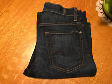 7 FOR ALL MANKIND RELAXED STRAIGHT FIT JEANS 28 X 32 EUC VERY NICE!