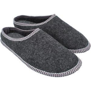 Herren leichte Filz HausSchuhe Pantoffeln Sneakers mit Noppen Laufsohle 40-46