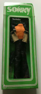 VINTAGE SONNY AND CHER BUCKSKIN SONNY OUTFIT UNUSED IN OPEN BOX MEGO 1976