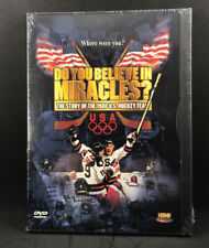 Hockey: Do You Believe In Miracles? The Story of the 1980 U.S. Hockey NEW DVD