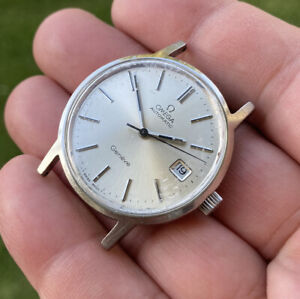 OMEGA GENEVE  (STAINLESS STEEL)WORKING BUT NEED SERVICE /SOLD AS IS