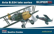 Eduard 1/144 Kit Modélisme 4452 Avia B.534 late series Quattro Combo C