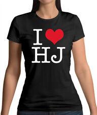 I Heart HJ - Womens T-Shirt - Jackman - Fan - Merch - Merchandise - Love