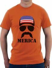 American Flag Cap hat Cool 4th of July Merica T-Shirt Gift Idea