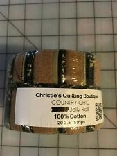 "Country Chic Jelly Roll, 20 - 2.5"" strips"