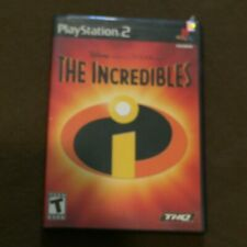 Sony PlayStation PS2 Video Game Disney Pixar The Incredibles Rated T