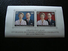 LUXEMBOURG - timbre yvert et tellier bloc n° 11 n** (Z7) stamp (A)