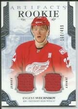 17-18 Artifacts Jersey Parallel Evgeny Svechnikov RC 100/499 #165 Red Wings
