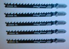 ORIGINALE lot 5 Lames de scie sauteuse BOSCH t144d HCS bois speed for wood