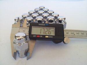 Fits Nissan- Subaru - Suzuki 16 Mag Wheel Nuts  12mm x 1.25