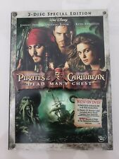 PIRATES OF THE CARIBBEAN Dead Man's Chest 2-DISC SPECIAL EDITION DVD SET