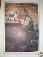 Assistant to Santa Claus 1914 print Will Houghton
