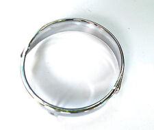 Vespa PK S XL Automatik Scheinwerfer Zierring Lampe Ring CHROM Ø 130 mm NEU