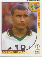 N°160 DELRON BUCKLEY # SOUTH AFRICA PANINI WORLD CUP JAPAN 2002 STICKER