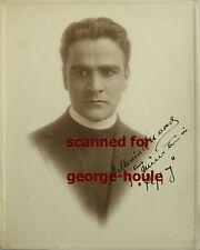 WILLIAM DESMOND - PHOTO - VTG - INSCRIBED - BILLIE BURKE - KING OF SILENTS