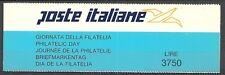 1992 ITALIA LIBRETTO GIORNATA DELLA FILATELIA MNH ** - ED